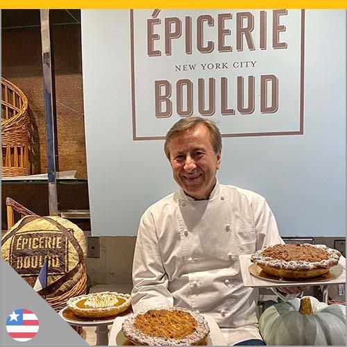 Chef Boulud à l'Épicerie Boulud