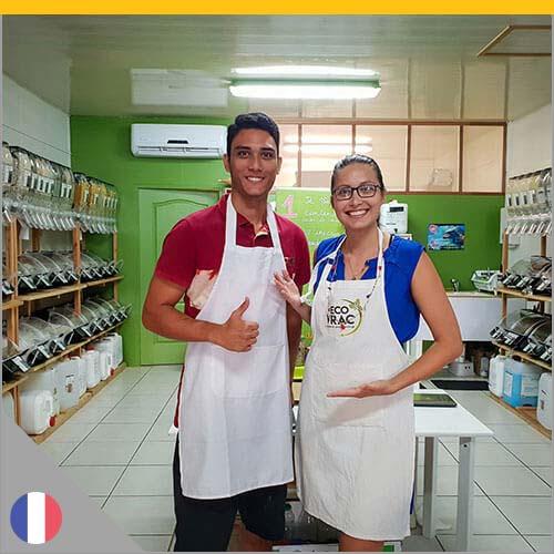 Equipe de l'épicerie ECO Vrac
