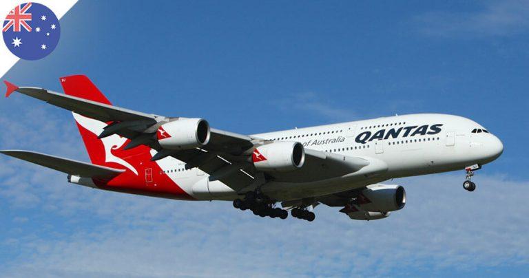 Airbus A380 de la compagnie aérienne Qantas