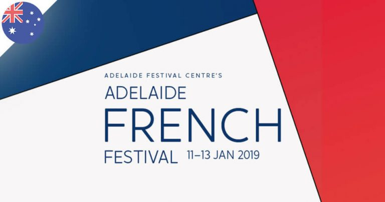 affiche tricolore de l'Adelaide French Festival 2019