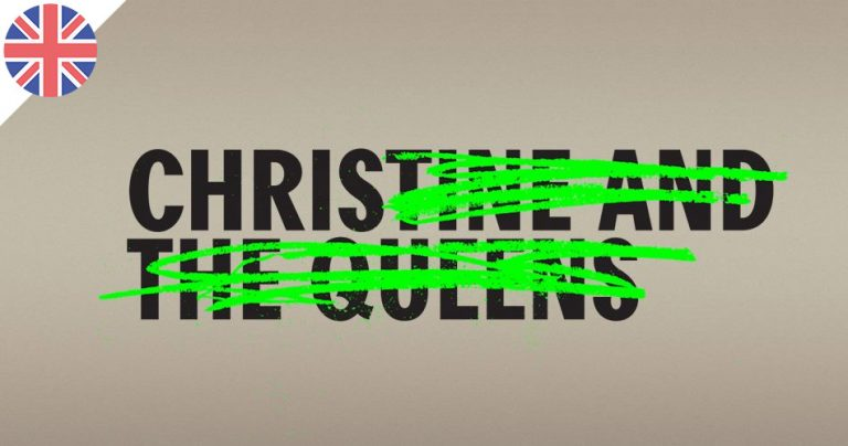 Affiche tournée Christine and the Queens - Londres