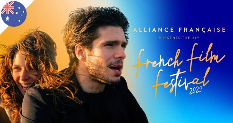 Affiche du French Film Festival 2020 en Australie
