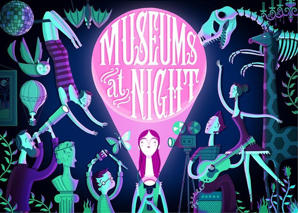 Affiche de : Museums at night au Royaume-Uni