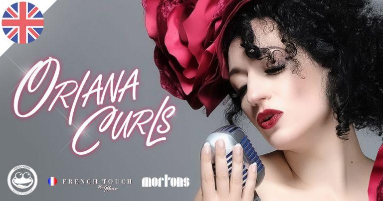 Affiche soirée French Touch by Marie avec la chanteuse française Oriana Curls