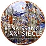 Affiche exposition : De la renaissance au 20e siècle