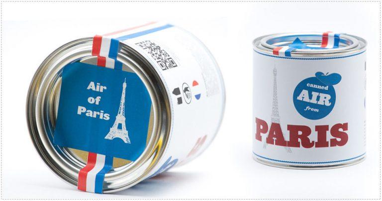 Air de Paris en conserve