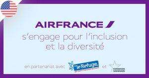 Air France : 2 vols événementiels LGBT friendly entre Paris et San Francisco
