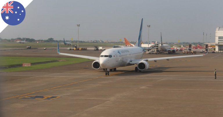 Avion de la compagnie Garuda Indonésia