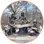 Alice in Wonderland à Central Park (NYC)