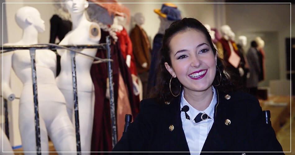 Amandine Garcia lors d'une Interview