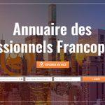 Annuaire mondial n°1 des pros de la communauté francophone