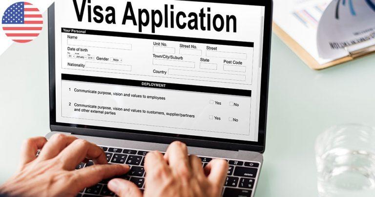 Application pour un visa par ordinateur