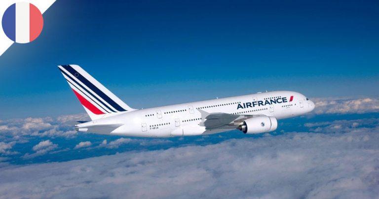 Avion A380 de la compagnie aérienne Air France