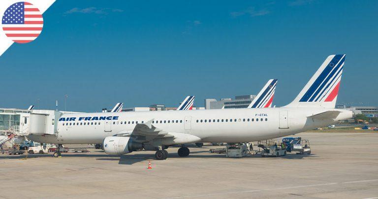 Avions de la flotte Air France au sol