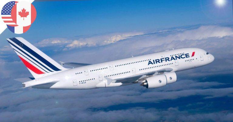 Airbus A380 d'Air France dans le ciel