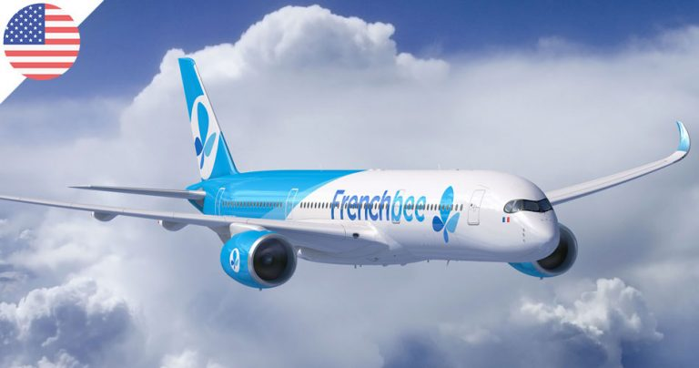 Avion de la compagnie aérienne française French Bee