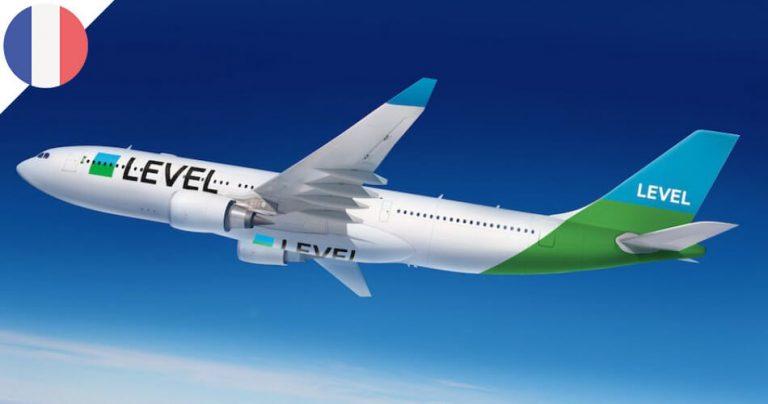 Avion de la compagnie aérienne : LEVEL