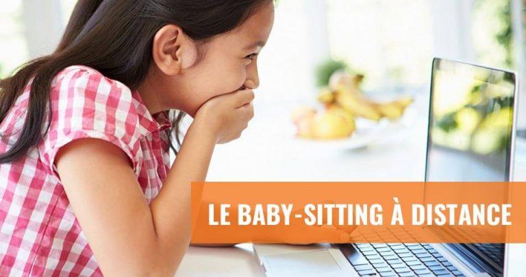 Tout savoir sur le baby-sitting à distance