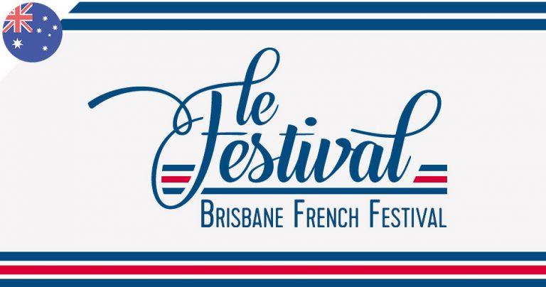 Bannière du festival : Brisbane French Festival