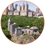 Belvedere castle à Central Park (New York, USA)