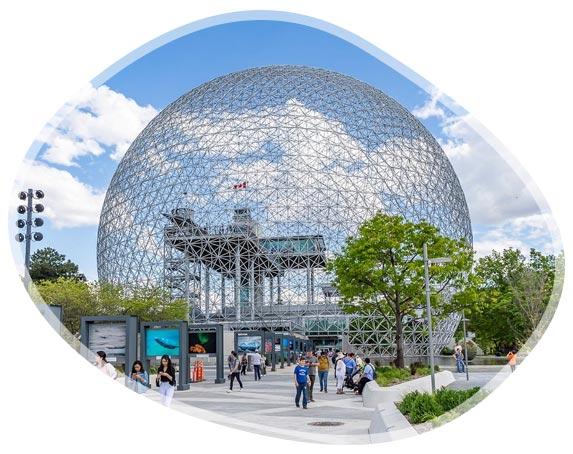 La biosphère de Montréal, musée de l'environnement