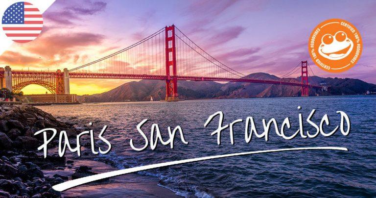 Bannière pour illustrer le Blog : Paris San-Francisco sur French Radar