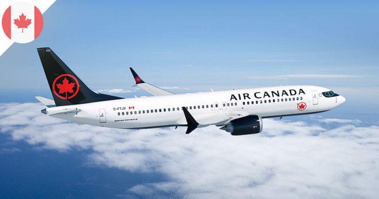 Boeing 737 Max d'Air Canada
