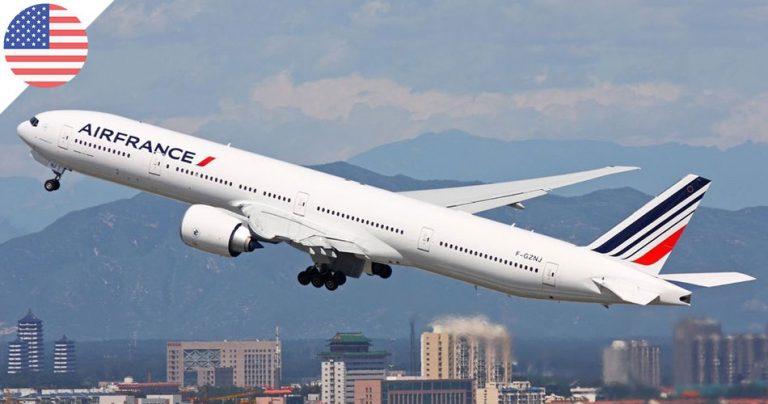 Boing 777 Air France