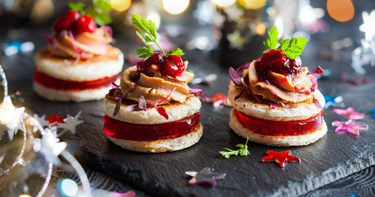Bouchées foie gras - Cuisine française