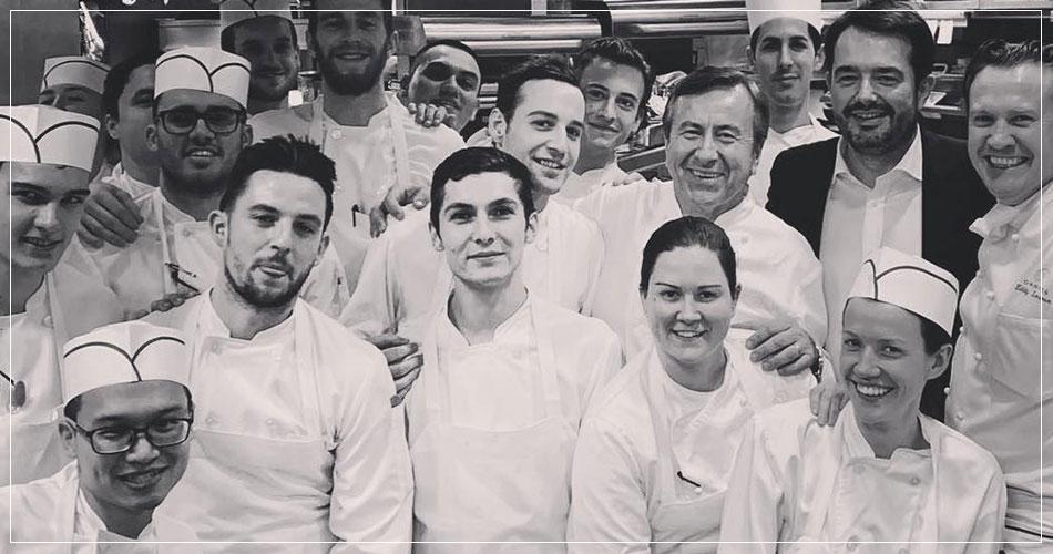 Brigade du restaurant français Daniel Boulud à New York (USA)