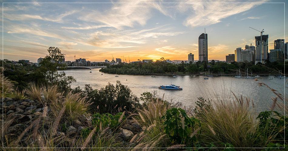 Magnifique vue sur Brisbane en Australie