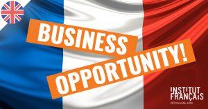 Business : L'Institut français recherche un prestataire en gérance pour son Espace Café