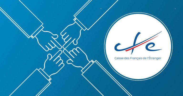 Bannière French Radar avec logo de la Caisse des Français de l'Etranger