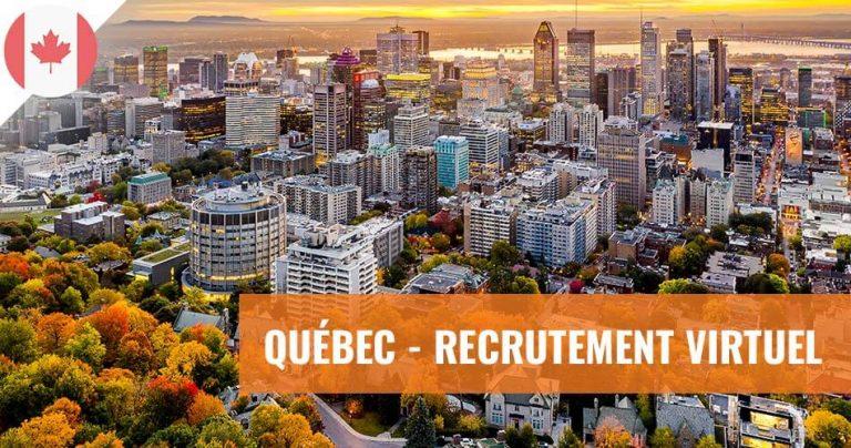 Ville de Montréal au Québec (Canada)