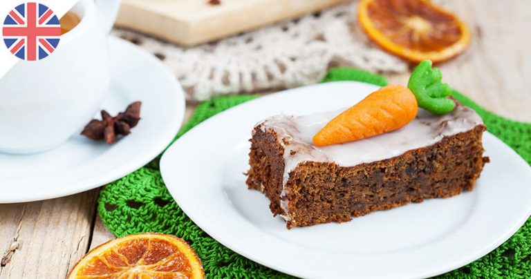 Carrot cake - Gâteau aux carottes