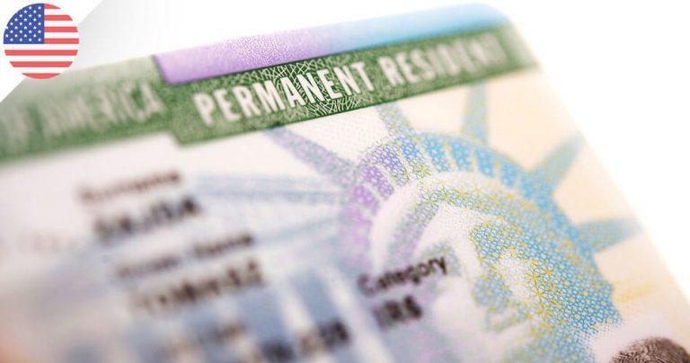 Carte verte américaine - American Green Card