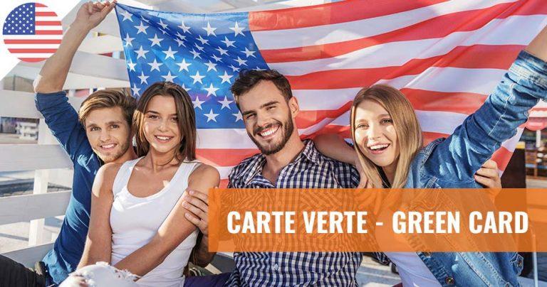 Carte verte américaine - Green card