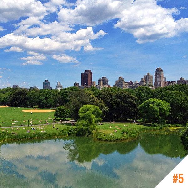 Central Park à New York (USA)