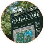 Plan de Central Park à New YOrk