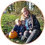 Cindy, expatriée française, et son ravissant petit garçon à Leeds (UK)