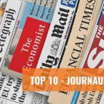 Top 10 des journaux anglais