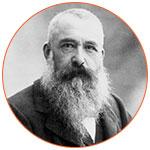 Claude Monet, peintre français.