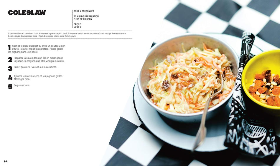 Recette américaine : Coleslaw