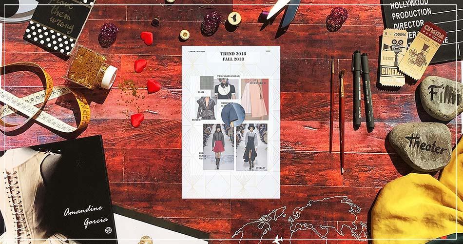 Composition artistique d'Amandine Garcia, couturière designer