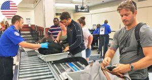 USA : Les poudres interdites en cabine