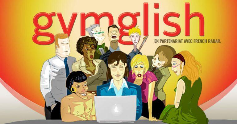 Illustration pour les cours anglais online proposés par Gymglish et Frenchradar