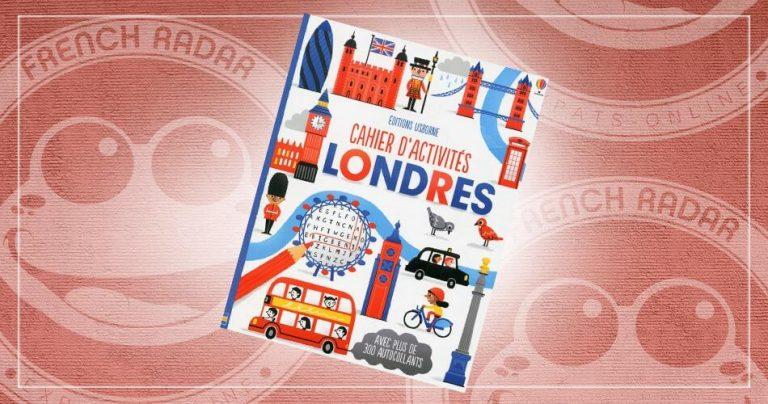 Couverture du livre : Cahier d'activités Londres