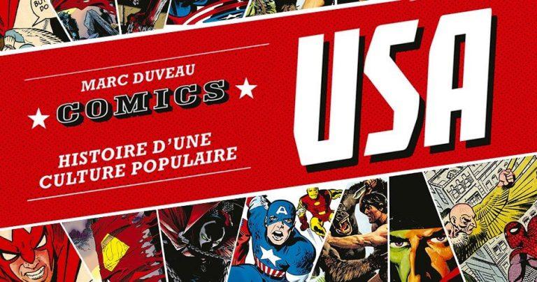 Couverture du livre COMICS USA