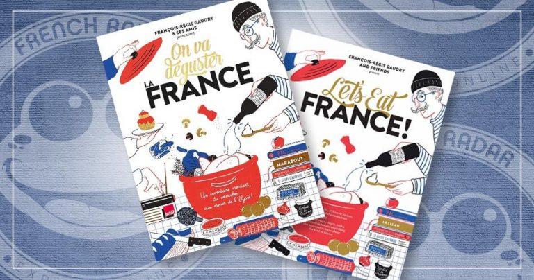Couvertures des livres de cuisine : On va déguster la France / Let' eat France