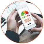 Credit Score aux USA sur mobile